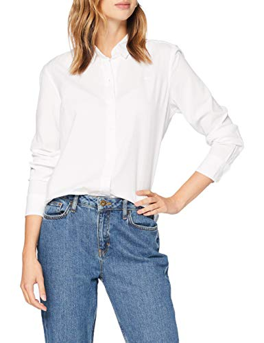 Levi's Damen The Classic Bw Shirt Hemd, Bright White, XS