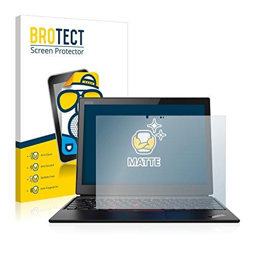BROTECT Entspiegelungs-Schutzfolie kompatibel mit Lenovo ThinkPad X1 Yoga (1. Generation) Bildschirmschutz-Folie Matt, Anti-Reflex, Anti-Fingerprint