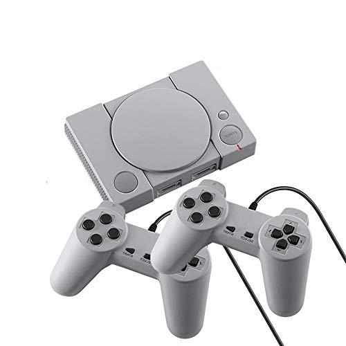 XWSQ Mini máquina de Juego Retro, 620 Juegos clásicos incorporados, con Dos Controladores clásicos, con Salida AV, clásico Infantil, Recuerdos Felices