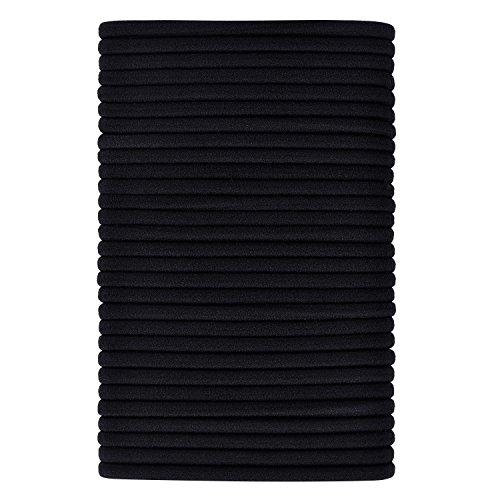 40 Piezas Goma de Pelo Elásticos de Pelo Banda de Cabello Coleteros (4 mm de Espesor)