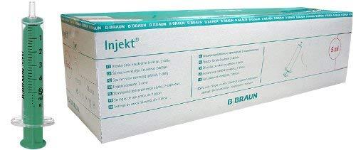 2-teilige Injekt Solo Einmalspritzen - 5 ml - 100 Stück