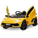 HOMCOM Kinderauto SVJ Kinderfahrzeug für 3-8 Jahre Elektroauto mit Fernsteuerung MP3/USB Licht...