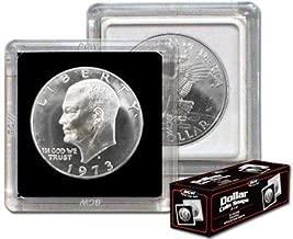 100 PEACE Dollar Coin Holder 2x2 Flip Mylar Cardboard BCW Storage Case 38.1mm