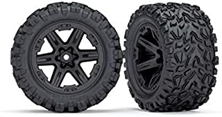 Traxxas TRA6774 Tires/Wheels, Assembled, Glued (2.8')