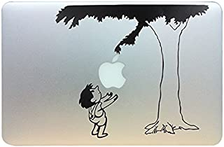 Evertrust(TM) Cute Child under the tree Funny Vinyl Laptop Skin Decal fits for Apple Macbook Pro / Air 13