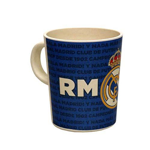 Real Madrid - Tazza in bambù in confezione regalo