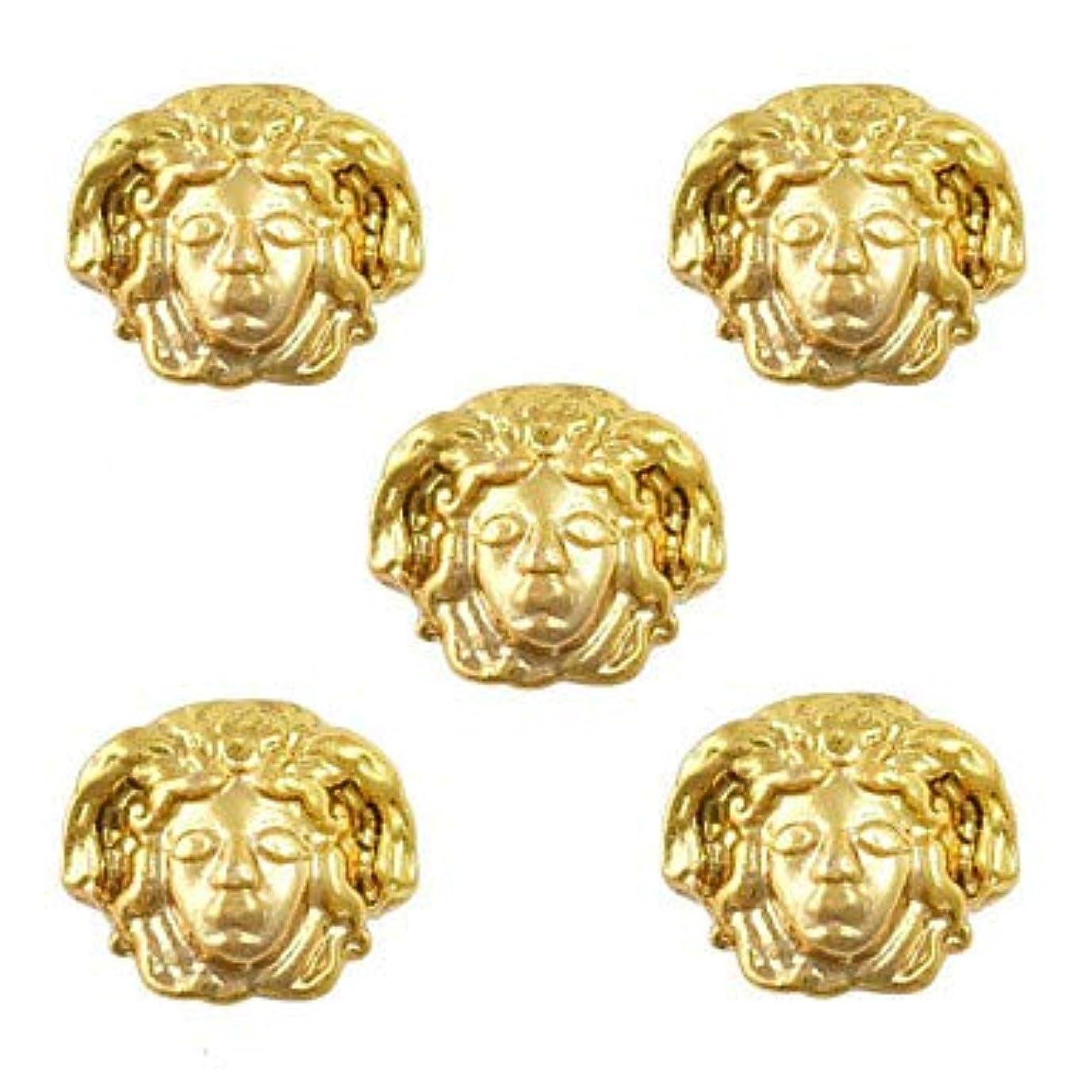 フラグラントスリットステートメント美容エジプトスタイルゴールドネイルチャーム3Dメタルネイルアートデコレーションアクセサリー用品ツール
