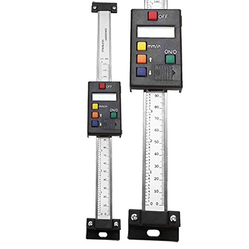 8''/ 200mm Vert Digital Dro Quill Kit Bridgeport Readout Vertical Ruler Caliper