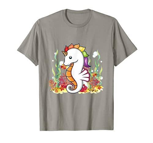 Caballito de mar lindo caballito de mar amante caballito de mar niños Camiseta