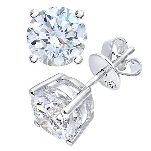 Naava Damen-Ohrstecker Platin 950 Diamant 0,5 ct PE04558PTJPK