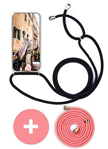 Handykette Handyhülle mit Band für Huawei Mate 10 Pro Cover - Handy-Kette Handy Hülle mit Kordel Umhängen -Handy Halsband Lanyard Hülle/Handy Band Halsband Necklace