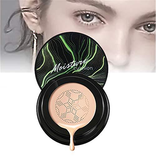 Waterproof Flaw-less Air Cushion Foundation, Air Cushion CC Cream Foundation Cover, base de maquillaje correctora hidratante de larga duración para todo el maquillaje de la piel (02#)