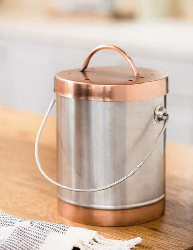 Fantastic Prices! Mixed Metals Compost Crock