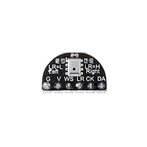 weichuang Elektronisches Zubehör I2S Mikrofon Modul MEMS Mikrofon Single Silikon Mikrofon Board für Maix-Bit/Maix-GO Elektronikteile Elektronikzubehör