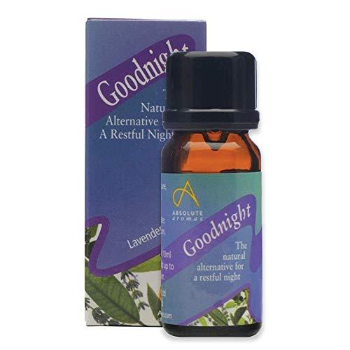 Absolute Aromas Mezcla de Aceites Esenciales Goodnight Sleep 30ml - 100% Puros de Lavanda, Geranio, Bergamota y Mejorana para Difusores y Aromaterapia