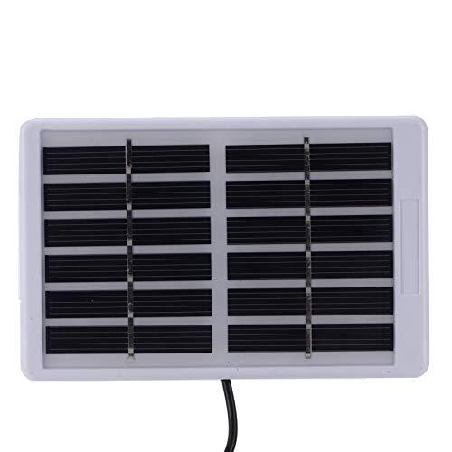 Panel solar, cargador de batería solar de 1,2 W 6 V para equipos de bajo consumo para iluminación del hogar