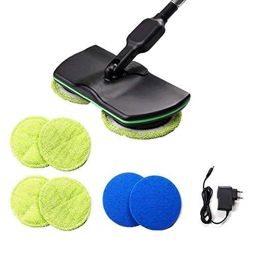 Felaaca Drahtlose elektrische Rotary Mop wiederaufladbare Reinigung Handheld Spinning Mop wiederaufladbare Powered Bodenreiniger Scrubber