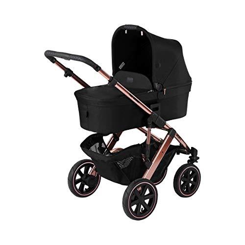 Passeggino con navicella Salsa 4 Air Diamond ABC DESIGN - modulare con ruote ad aria pratico elegante e alla moda (rose gold)