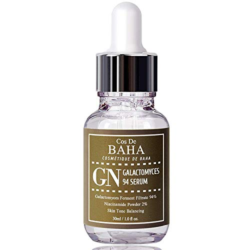 Galactomyces 94% Treatment Serum 1oz + Niacinamide 2% - Reduce Pore and Blackheads and Comedones + Uneven Skin Tone Treatment + Brightness for Facial + Hydrates Facial, 1oz (30ml)