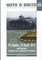 Nuts & Bolts Vol.24: Pz II D/E, Marder II D, FlammPz II - Sd.Kfz. 121 & Sd.Kfz. 122 & Sd.Kfz. 131
