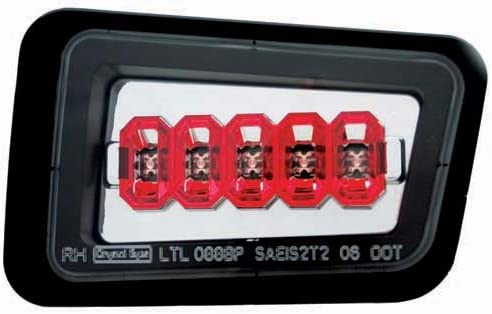 IPCW LEDT-343BPC Rare Crystal Clear Ranking integrated 1st place Rear Bumper Pair Light -