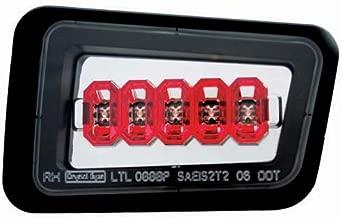 IPCW LEDT-343BPC Crystal Clear Rear Bumper Light - Pair