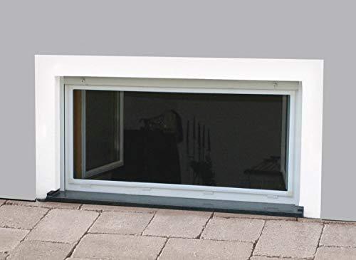 Nagerschutz-Gitter für Keller-Fenster 100 x 60 cm in weiß