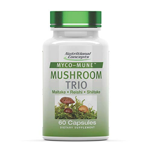 Mushroom Trio Complex with Reishi, Shiitake, &...