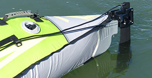 Advanced Elements – Advanced Trak Kayak timone Ruota, Nero, Taglia Unica