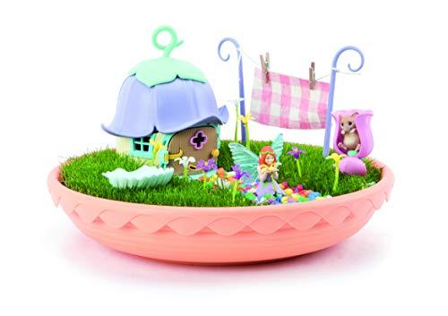 TOMY- My Fairy Garden incantato giardino da far crescere per bambini, idea regalo, mini statuetta fatata, giocattolo dai 4 anni +, E72907FR, multicolo