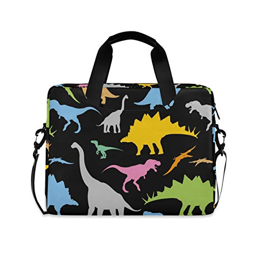 Neoprene Sleeve Laptop Handbag Case Cover Dino Pattern Seamless Pattern Portable MacBook Laptop//Ultrabooks Case Bag Cover 17 Inch