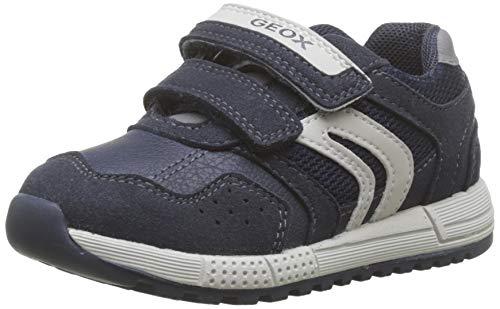 Geox B ALBEN Boy A, Zapatillas para Bebés, Azul (Navy/Grey C0661), 21...