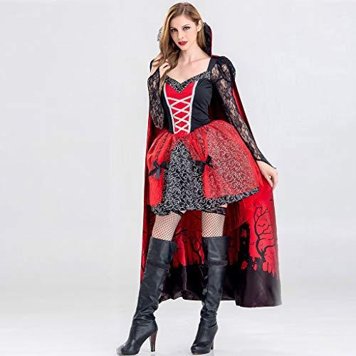 SHSH Halloween-Kostüm Vampir, Damen, Damen, Lange Ärmel, Hexenkostüm, Cosplay-Kostüm,...
