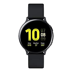 Intelligent wellness: using multiple sensors and real-time data, the Galaxy Watch Active2 is a lifestyle and health partner on your wrist Automatic workout detection: the real-time Running Coach allows you to set a target and prompts you to keep on t...