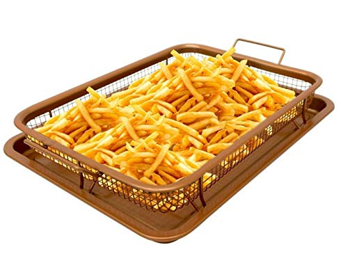 Copper Crisper Tray - AIR FRY IN YOUR OVEN - As Seen on TV - NEW!
