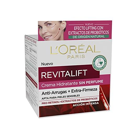 L'Oréal Paris - Revitalift Crema Hidratante Sin Perfume Anti Arrugas Extra Firmeza