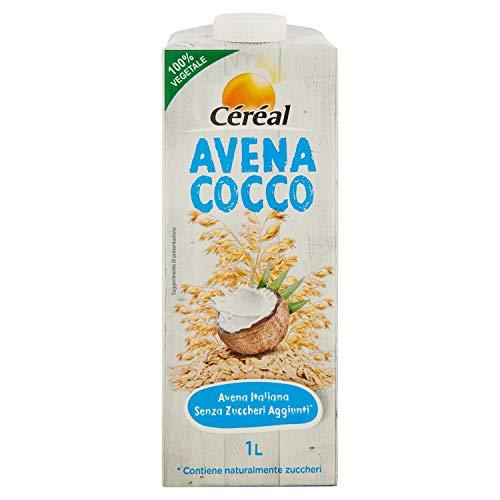 Céréal Drink Avena Cocco Senza lattosio, Latte di cocco senza zuccheri aggiunti- 1 L