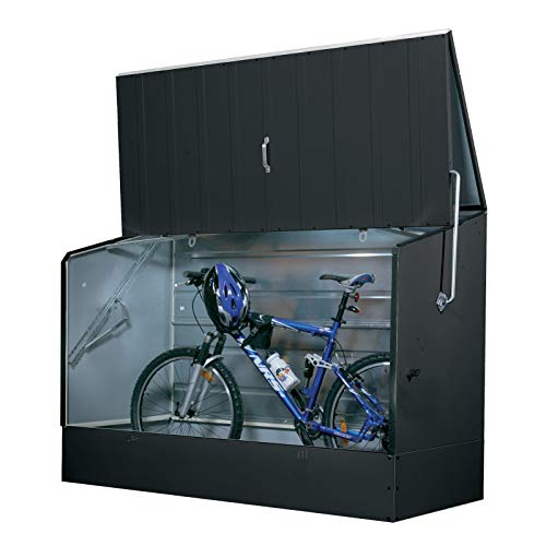 Tepro Caja para guardar bicicletas, color antracita