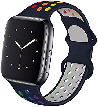 Hotflow Compatible with Apple Watch Band 38mm 40mm