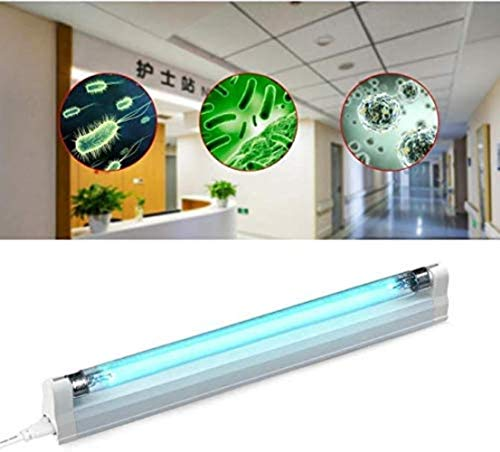 T5 8W UV-lamp 6W LED Quartz Ultraviolet Kiemdodende UVC UV-licht sterilisator 220V Ozon Blacklight Deodor Eliminator Tube Grootte: 8W