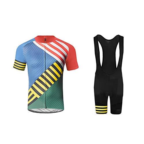Uglyfrog 2019 Gemütlich Fahrradbekleidung Radtrikot Set Fahrrad Trikot Radtrikot + Kurz Radhose mit Sitzpolster Triathlon Anzüge