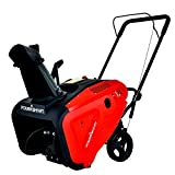 PowerSmart Snow Blower, 21-INCH Single Stage Gas Snow Blower, 196CC Powered Snow Blower, Snow Thrower 180°Chute Rotation, PSS1210M