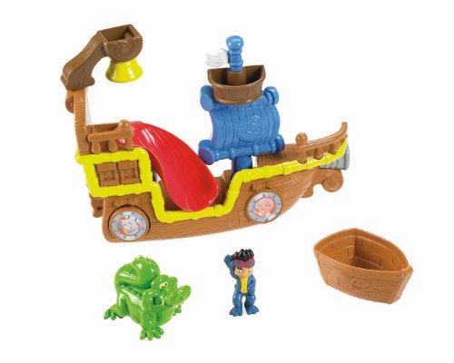 Mattel Fisher-price - X4987 - Jouet De Premier Age - Set jeu pour le bain - Bateau Jake et les Pirates du Pays imaginaire