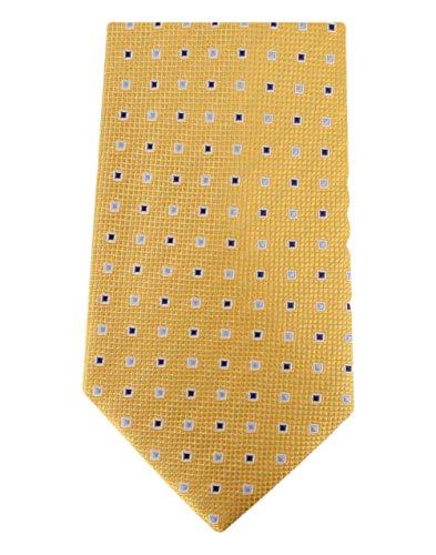 David Van Hagen Carrés d'or cravate de