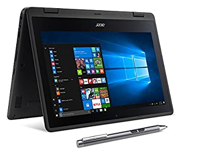 """Acer SP111-31N-C4UG Spin 1, 11.6"""" Full HD Touch, 2 in 1 Laptop, Celeron N335, 4GB DDR3L, 32GB Storage, Office 365, Stylus"""
