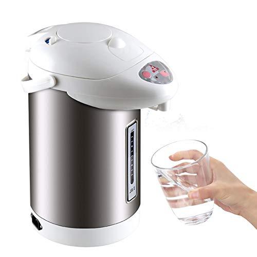 Heißwasserspender Edelstahl Thermopot Wasserkocher, 3,8 L Kapazität mit Trockengeh- & Überhitzungsschutz