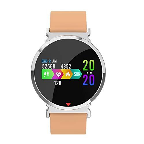 Aimado Smartwatch Sportivo, Fashion Smart Watch Cardiofrequenzimetro da Polso Monitoraggio Fitness Tracker Telecamera Compatibile con Android e iOS