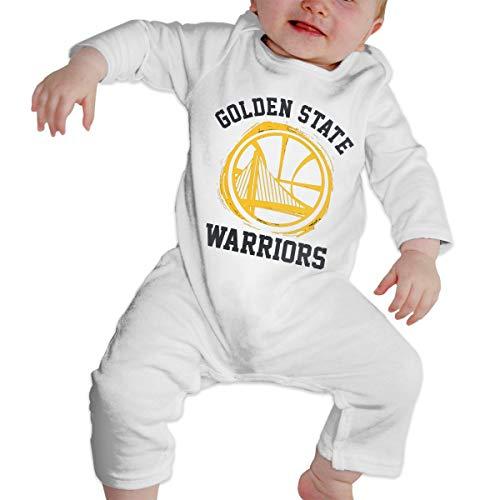DLAZANA Golden State Classic Logo Curry - Body de Manga Larga para ...