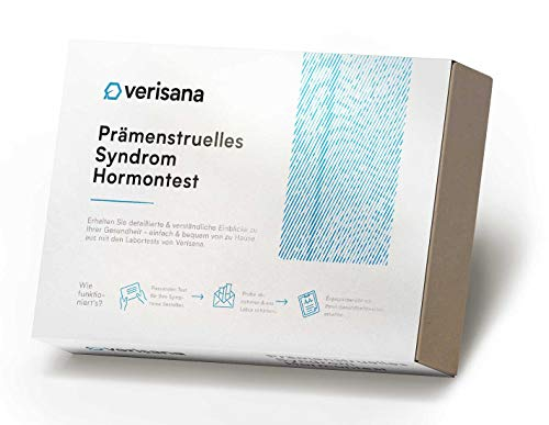 Verisana Hormonspeicheltest Prämenstruelles Syndrom (PMS) – Bestimmung der Hormone Östradiol & Progesteron – Speichelhormontest
