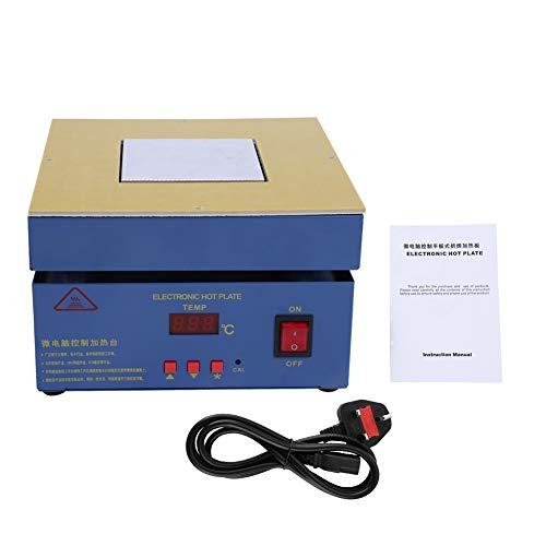 LED-Mikrocomputer-Vorheizstation für Elektrische Heizplatten, 800 W 50-350 ℃ Heizplatte, für die Komponentenheizung SMDReengineering, Leiterplattenentfernung Löten(220V)